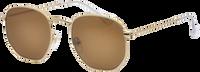 Braune IKKI Sonnenbrille LA PORTE - medium