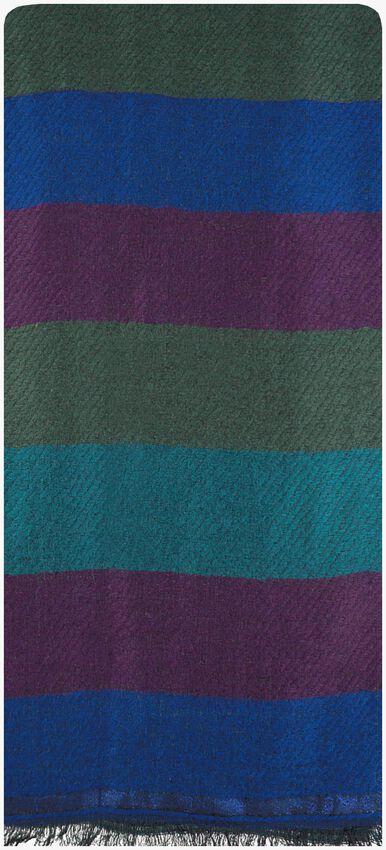 Blaue NOTRE-V Schal CORTNEY  - larger