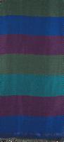 Blaue NOTRE-V Schal CORTNEY  - medium