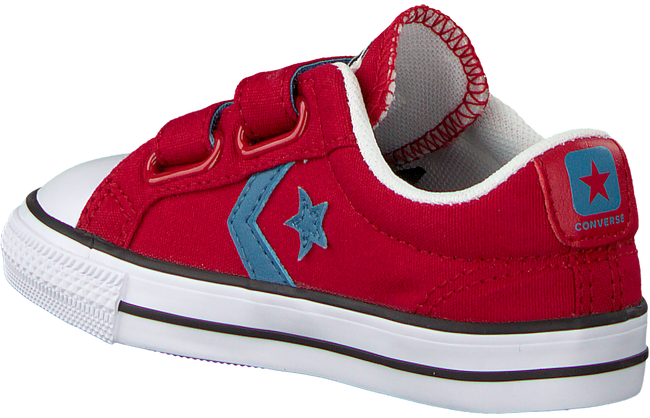 Rote CONVERSE Sneaker STAR PLAYER 2V OX KIDS - large