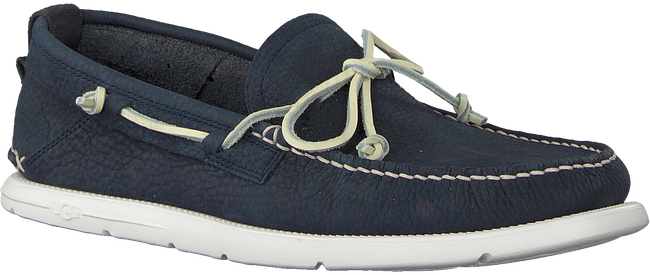 Blaue UGG Mokassins BEACH MOC SLIP-ON  - large