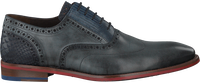 Graue FLORIS VAN BOMMEL Business Schuhe 19062 - medium