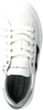 Weiße TOMMY HILFIGER Sneaker low LOW CUT LACE-UP SNEAKER  - small