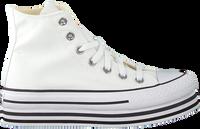 Weiße CONVERSE Sneaker high CHUCK TAYLOR AS PLATFORM LAYER  - medium