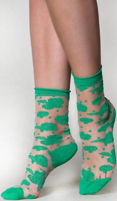 Grüne MARCMARCS Socken EMILY  - large