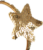 Goldfarbene LE BIG Stirnband LOLA HEADBAND - small