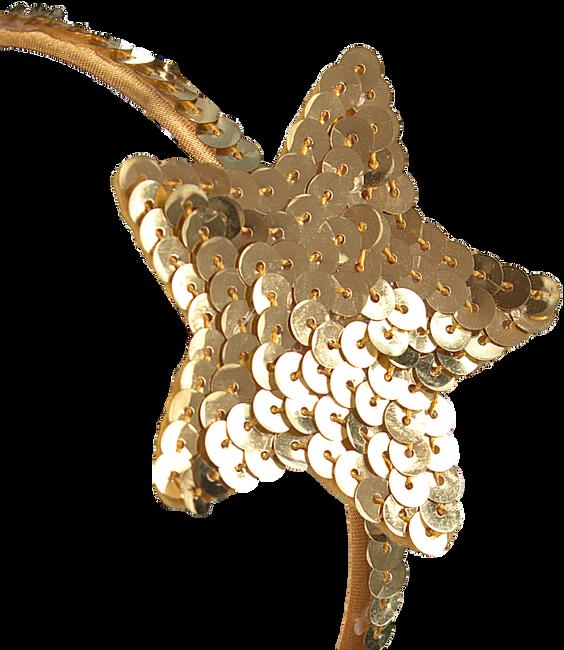 Goldfarbene LE BIG Stirnband LOLA HEADBAND - large