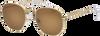 Braune IKKI Sonnenbrille LA PORTE - small