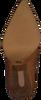 Cognacfarbene LOLA CRUZ Stiefeletten 059T45BK  - small