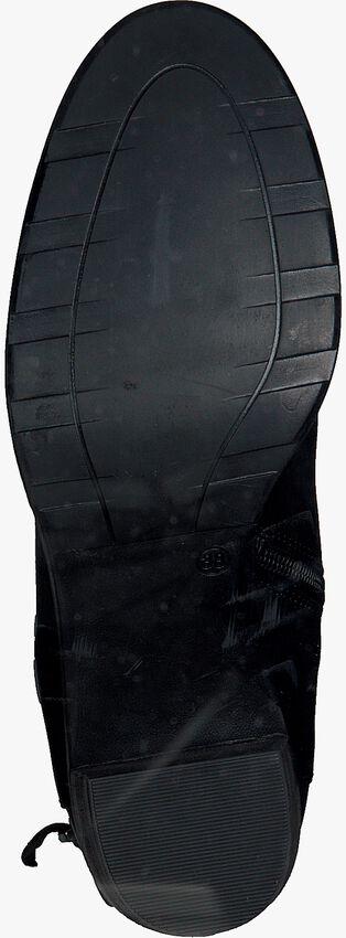 Schwarze OMODA Stiefeletten 8678  - larger