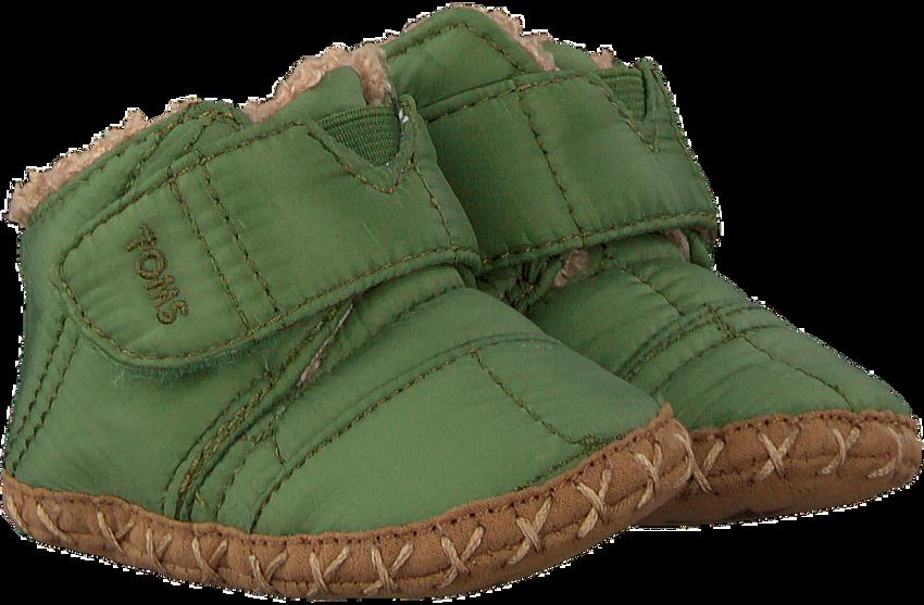 Grüne TOMS Babyschuhe CUNA - larger