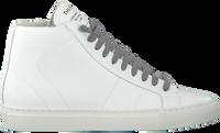 Weiße P448 Sneaker high STAR WOMAN  - medium