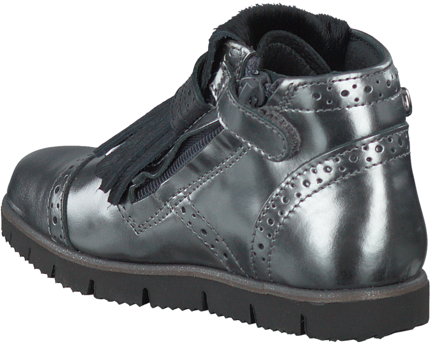 Silberne PINOCCHIO Ankle Boots P1078 - larger