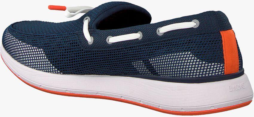 Blaue SWIMS Loafer BREEZE WAVE LACE  - larger