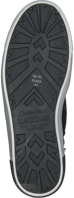 Schwarze BLACKSTONE Schnürboots QL41 - large