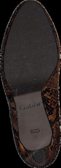 Cognacfarbene GABOR Stiefeletten 860  - large