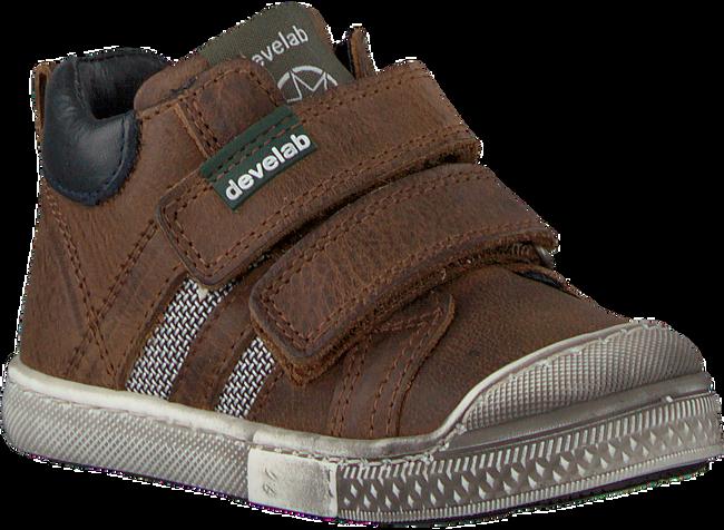 Cognacfarbene DEVELAB Sneaker 41679 - large