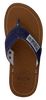 Cognacfarbene PME Zehentrenner HUNT - small