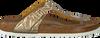 Goldenen BIRKENSTOCK PAPILLIO Slipper GIZEH SPECTRAL  - small