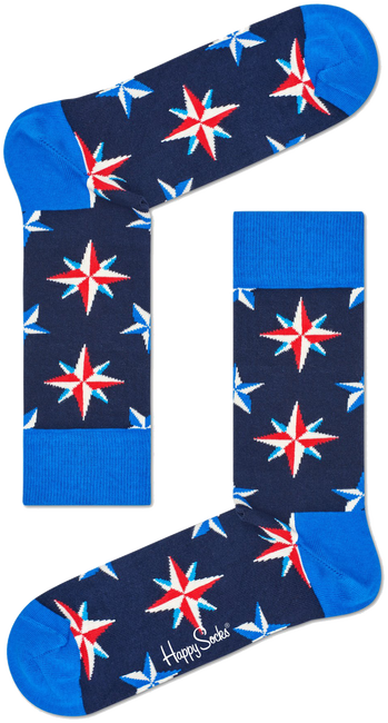 HAPPY SOCKS Socken NAUTICAL STAR - large
