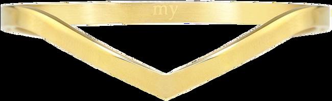 Goldfarbene MY JEWELLERY Armband V BANGLE - large