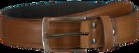 Cognacfarbene BRAEND Gürtel 3500  - medium