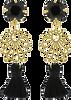 Schwarze JEWELLERY BY SOPHIE Ohrringe IBIZA EARRINGS - small