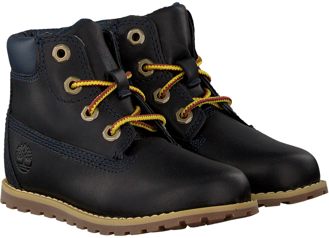 Blaue TIMBERLAND Schnürboots POKEY PINE 6IN BOOT KIDS  - large