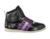 Schwarze QUICK Sneaker QUEBEC MID JR LACE 4 - small