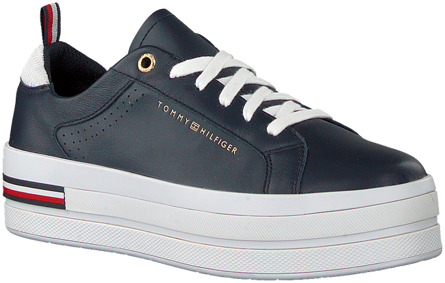 Blaue TOMMY HILFIGER Sneaker low MODERN FLATFORM  - large
