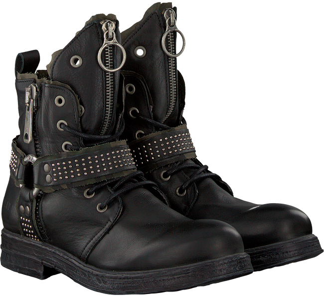 Schwarze REPLAY Biker Boots RL260060L FAIRVIEW - large