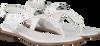Weiße MICHAEL KORS Sandalen MK PLATE THONG  - small