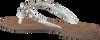 Weiße LAZAMANI Zehentrenner 75.341 - small