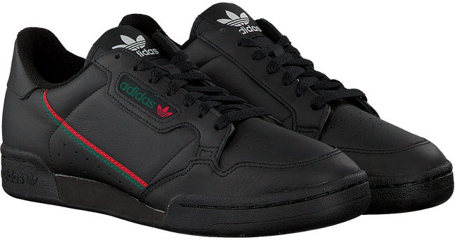 Schwarze ADIDAS Sneaker CONTINENTAL 80 MEN  - large