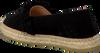 Schwarze KANNA Espadrilles KV8000 - small