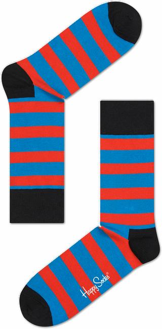 Rote HAPPY SOCKS Socken STRIPE - large