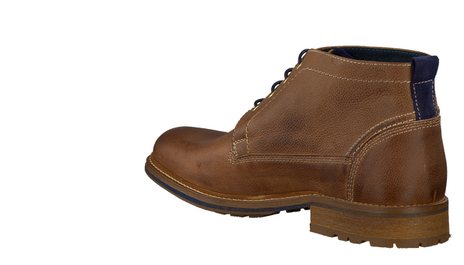 Cognacfarbene OMODA Ankle Boots 36031 - large