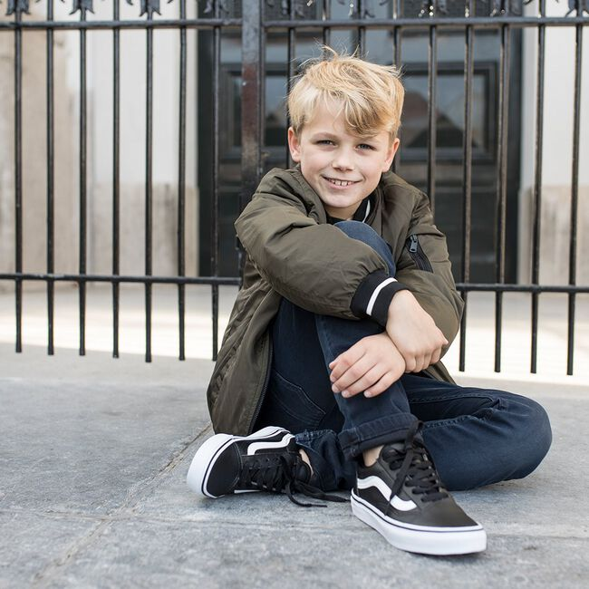 Schwarze VANS Sneaker OLD SKOOL KIDS - large