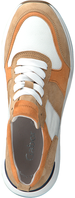 Camelfarbene GABOR Sneaker low 490.1  - large