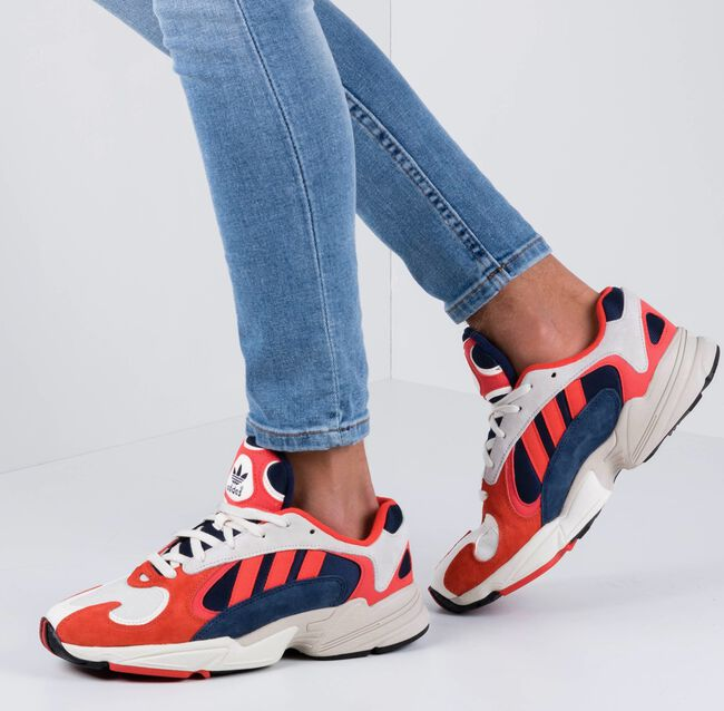 Rote ADIDAS Sneaker YUNG 1 B37615  - large