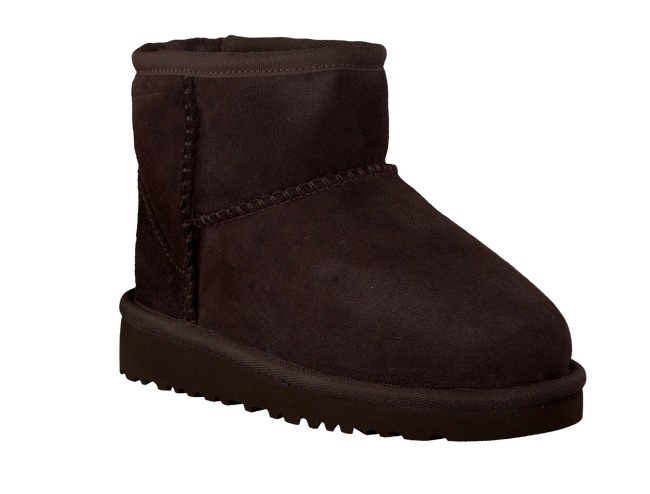 Braune UGG Winterstiefel CLASSIC MINI KIDS - large
