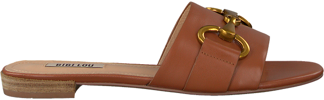 Cognacfarbene BIBI LOU Pantolette 520Z10VK-V20  - large
