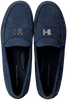 Blaue TOMMY HILFIGER Mokassins TH HARDWARE MOCASSIN  - small