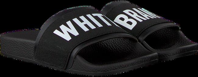 Schwarze THE WHITE BRAND Pantolette ELASTIC MINIMAL KIDS - large