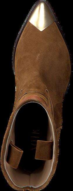 Cognacfarbene NOTRE-V Stiefeletten A1360  - large