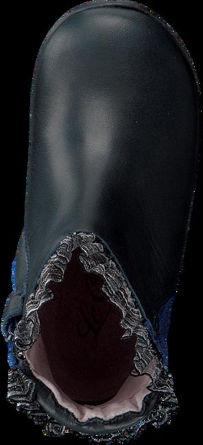 Blaue LE CHIC Langschaftstiefel RUFFLE FLOWER - large