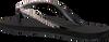 Schwarze UZURII Zehentrenner CLASSIC - small