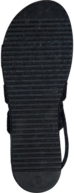 Schwarze SHABBIES Sandalen 170020123  - large