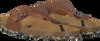 Cognacfarbene DEVELAB Zehentrenner 48079 - small