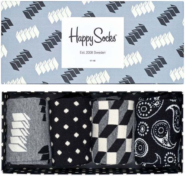 Mehrfarbige/Bunte HAPPY SOCKS Socken GIFT PACK - large
